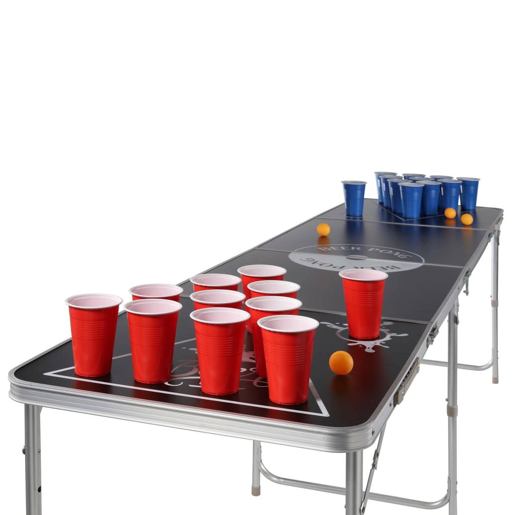 a sad je i ovdje sve popularniji: pivski pong! Uz ovaj prijenosni sklopivi stol za pivski pong marke HI