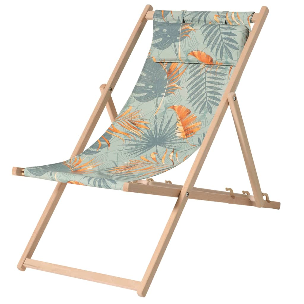 Uživajte u vremenu na plaži ili pored bazena uz ovu udobnu drvenu stolicu za plažu Dotan marke Madison s naslonom za glavu! Ova moderna stolica za kampiranje bit će sjajan dodatak vašem vrtu