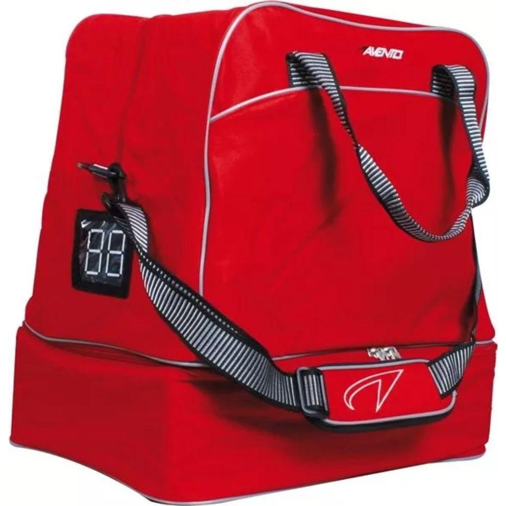 Nogometna torba Avento 50AB je neophodna za nogometaše koji žele organizirano držati svoju opremu u kompaktnoj i opsežnoj torbi. Veliki