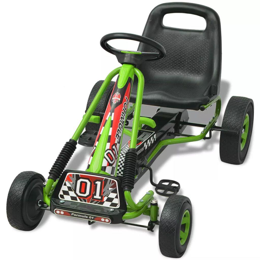 omogućava vožnju naprijed i natrag i kontrolira se povlačenjem ručice. PVC kotači s protukliznim ovojima