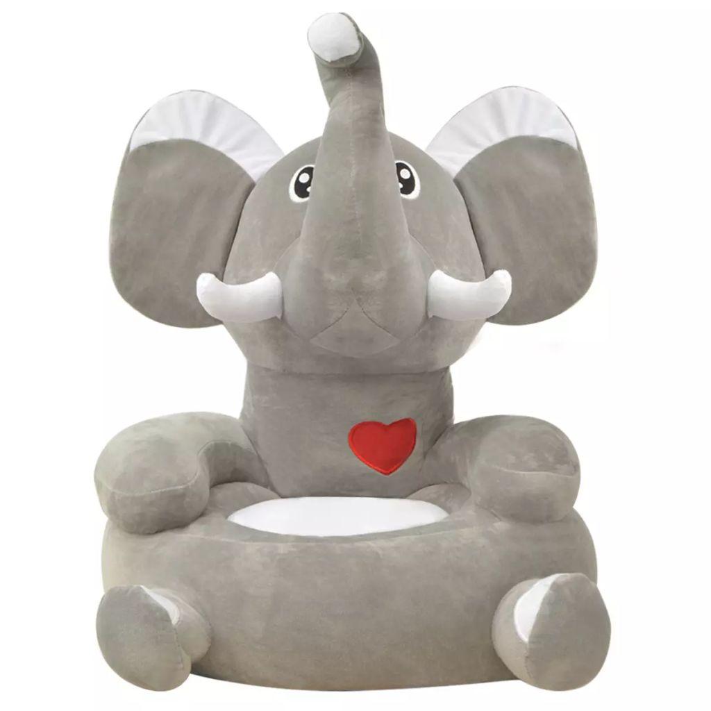 čitati ili opuštati. Sa svojim neodoljivim oblikom slona bit će sjajan dodatak bilo kojoj dječjoj igraonici ili spavaćoj sobi. Izrađena od visokokvalitetnog pliša s mekim punjenjem