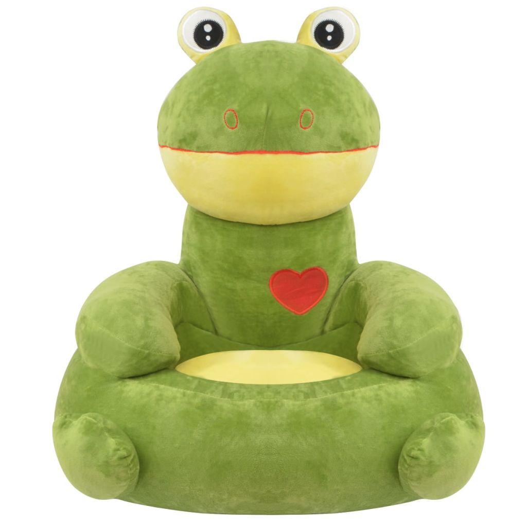 čitati ili opuštati. Sa svojim neodoljivim oblikom žabe bit će sjajan dodatak bilo kojoj dječjoj igraonici ili spavaćoj sobi. Izrađena od visokokvalitetnog pliša s mekim punjenjem