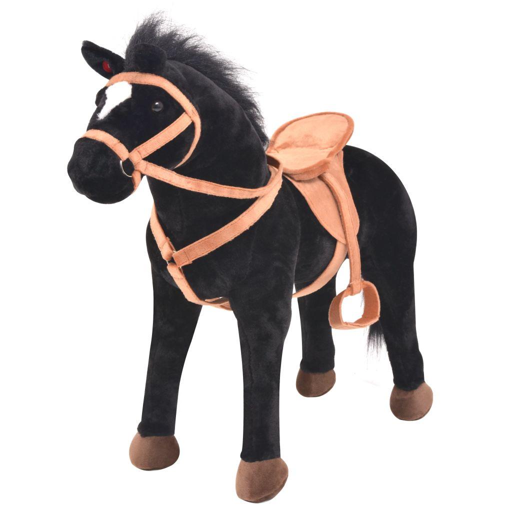 Vaše dijete će se odlično zabavljati s ovim uvjerljivim plišanim konjićem! Ovaj umiljati konjić ima živopisne karakteristike i izrađen je od visokokvalitetnog pliša
