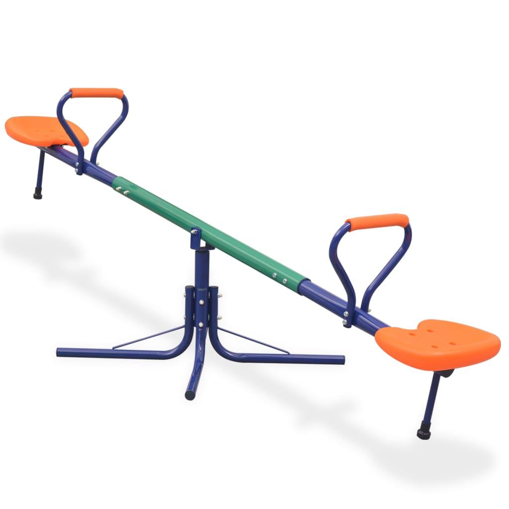 Pretvorite svoje dvorište u igralište s ovom spektakularnom klackalicom koja se može rotirati za 360-stupnjeva ! Vaša će djeca obožavati ljuljanje dok uživaju u svježem povjetarcu ili sunčanom danu. Ova čvrsta klackalica