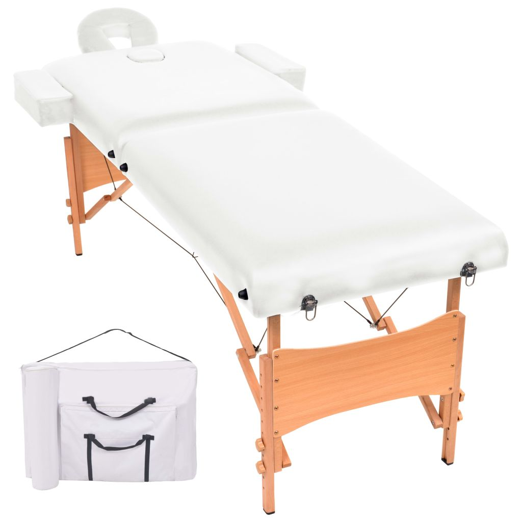Naš 2-dijelni sklopivi stol za masažu