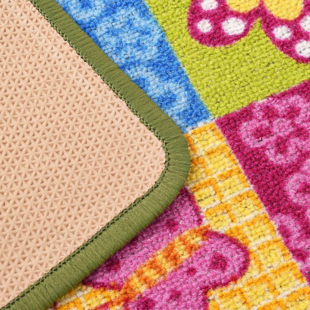 tepih za kampiranje itd. Tepih za igranje s dizajnom leptira ima slikoviti dojam. Izrađen od izdržljivog materijala s neklizećom podlogom