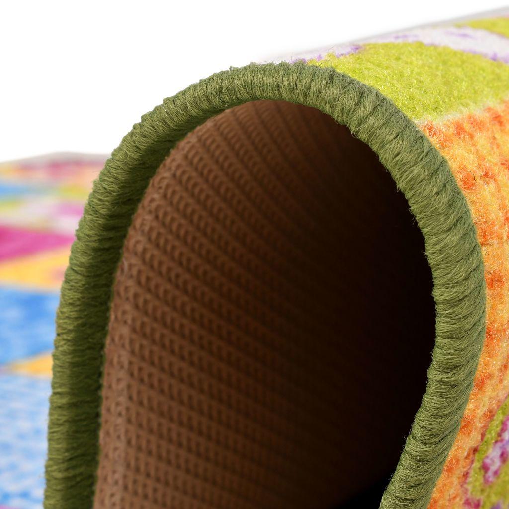 tepih za igranje je vrlo izdržljiv. Ovaj dječji tepih za igranje je jednostavan za čišćenje i održavanje. Napomena: Uzorak može varirati od komada do komada; primjerci se isporučuju slučajnim odabirom.