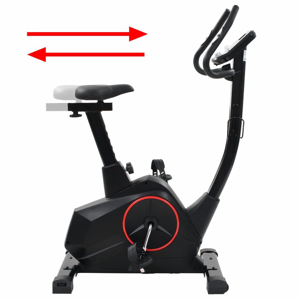 oporavak i masno tkivo. Kompjuterski zaslon ima držač za tablet kako biste mogli koristiti svoj tablet ili gledati film dok vježbate. Bicikl za vježbanje je ergonomski dizajniran. Sjedalo se može podesiti vodoravno ili okomito. Sjedalo se može podesiti vodoravno ili okomito. Smjer upravljača može se podesiti prema vašim potrebama. Neklizajuće pedale jamče optimalni prijenos snage s nogu na pedale