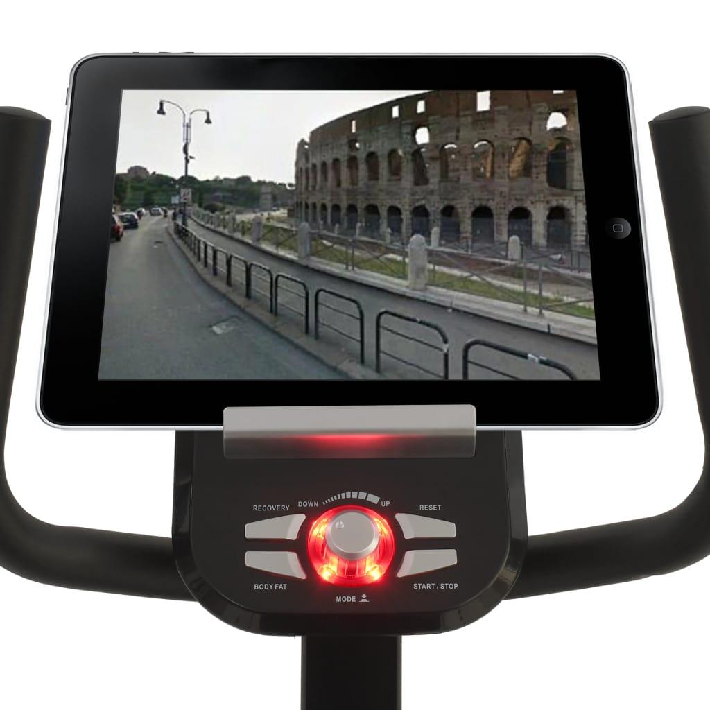 ovaj bicikl za vježbanje će vam zasigurno pružiti efikasan trening. Možete pratiti izvedbu na LCD ekranu koji prikazuje informacije o proteklom vremenu