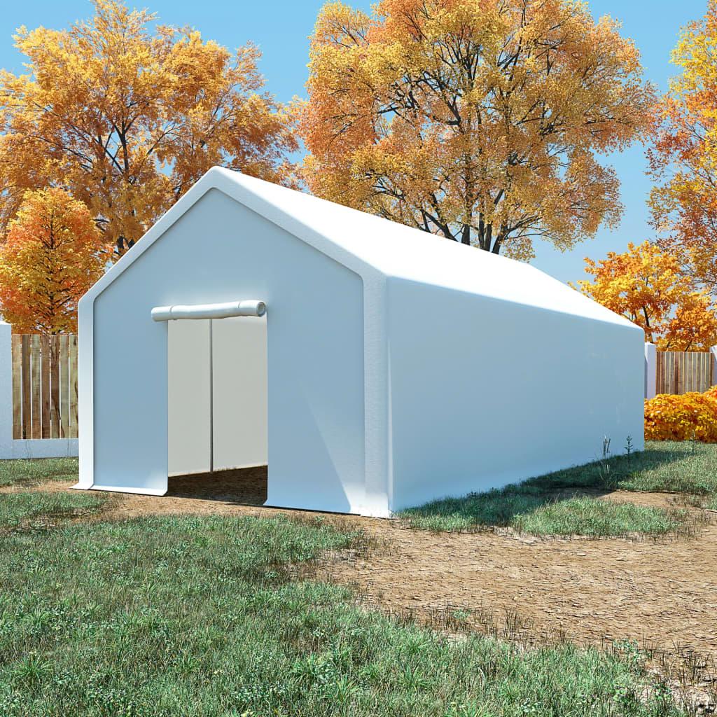 Ovaj skladišni šator ima veliki kapacitet i idealan je za pohranu širokog raspona robe i predmeta. Sve što u njega pohranite bit će zaštićeno u nepovoljnim vremenskim uvjetima. Ovaj skladišni šator izrađen je od 100 % PE materijala