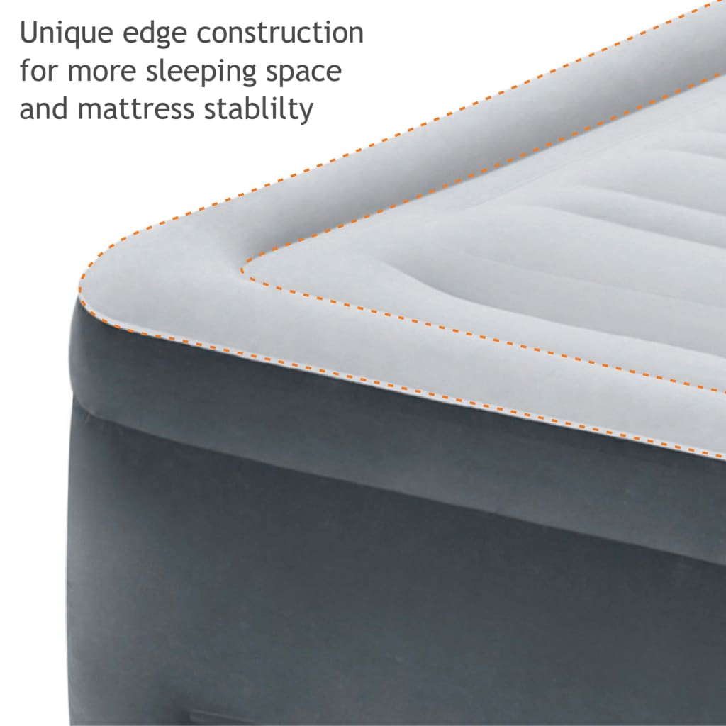 idealan za starije osobe ili za osobe s problemima s leđima. Kako biste zaštitili svoj zračni krevet Queen Comfort Plush High Rise