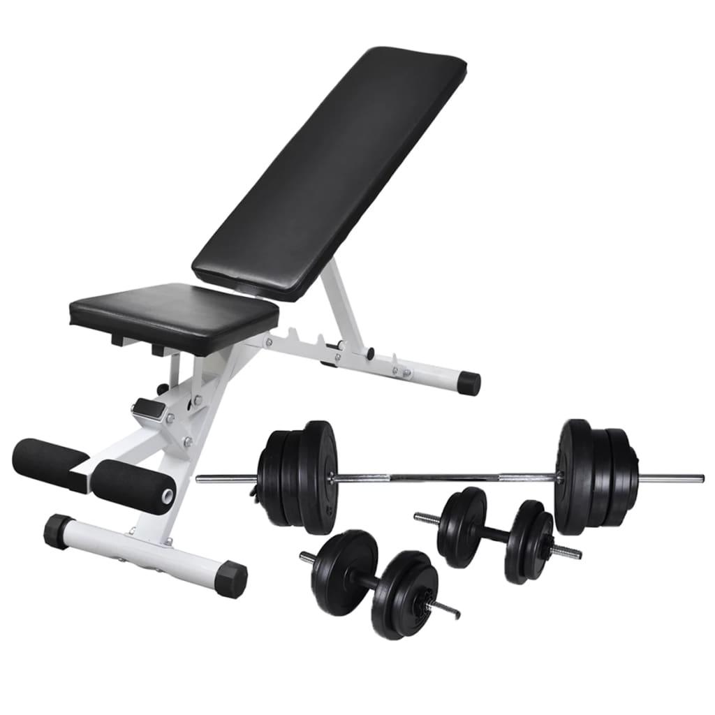 Ova klupa za vježbanje