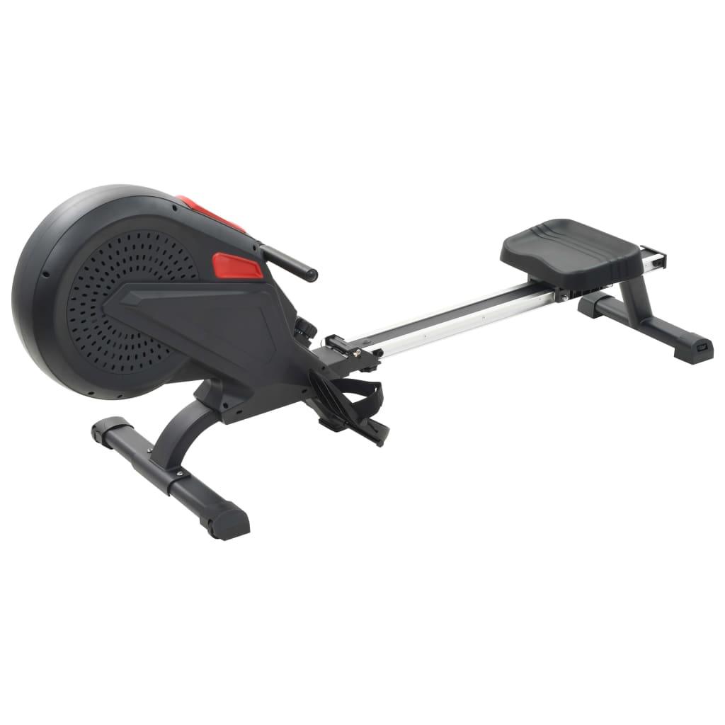 udaljenosti i potrošenim kalorijama. Neklizeće pedale omogućuju optimalan prijenos snage s nogu na pedale. Remeni pedala spriječit će slučajno klizanje vaših stopala s pedala. Sustav zračnog otpora osigurava glatki i tihi rad bez potrebe za održavanjem. Sprava za vježbanje lako se pomiče zahvaljujući transportnim valjcima u postolju. Podni poravnači čine ovu spravu stabilnijom. Proizvod se lako sastavlja.