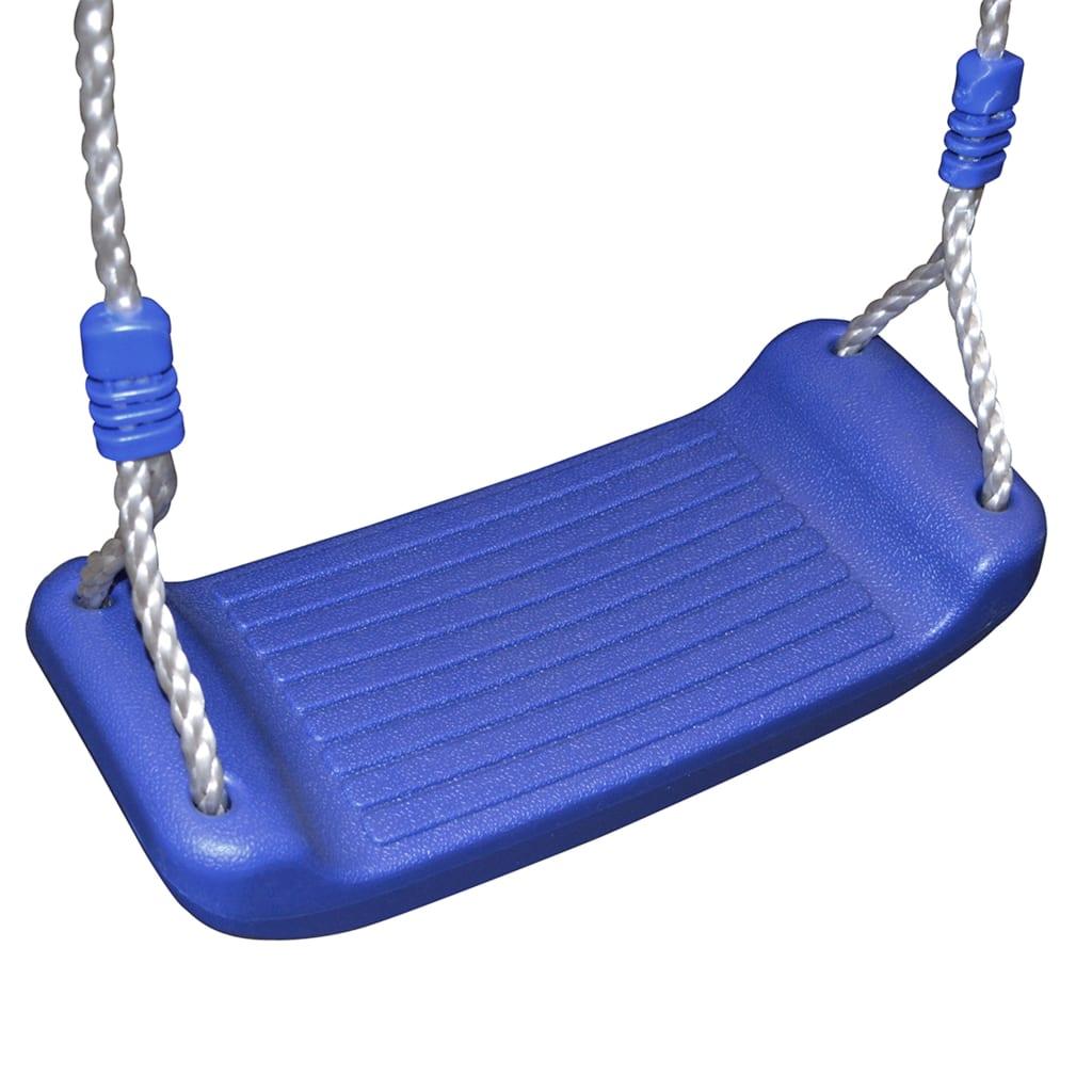 a šareni rukohvati pružaju dodatnu sigurnost. Roditelji stoga mogu biti mirni kad se njihova djeca igraju na setu za igranje koji odgovara najnovijim sigurnosnim standardima. Kućica za igru ima čvrsti drveni okvir