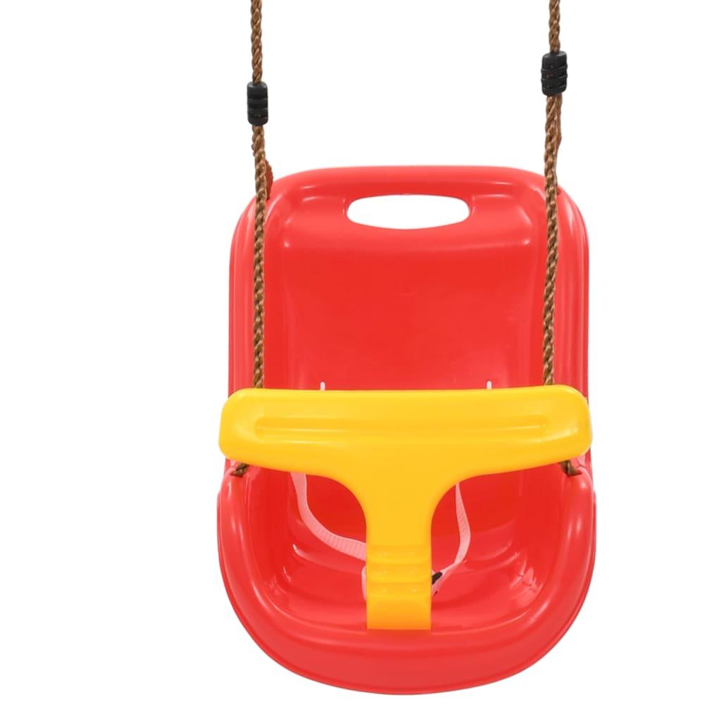 ljuljačke su vrlo otporne na vremenske utjecaje i prikladne za dvorište i vrt. Ljuljačke su prikladne za bebe i malu djecu od 6 do 36 mjeseci. Pobrinite se da se ljuljačke upotrebljavaju pod izravnim nadzorom odrasle osobe. Isporuka uključuje 2 ljuljačke.