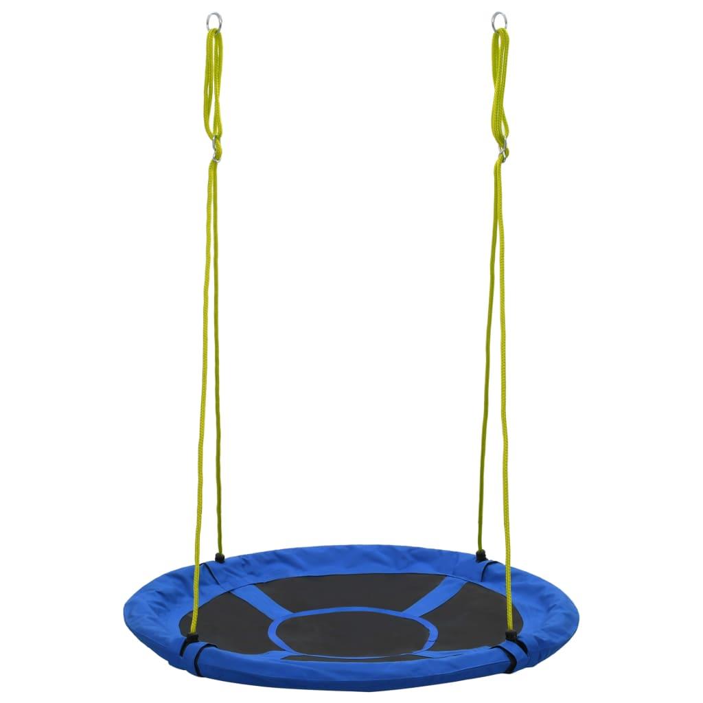 užad za ovjes može se podesiti pomoću kuka i tako prilagoditi djeci različite dobi. Ljuljačka je prikladna za djecu stariju od 3 godine. Pobrinite se da se ljuljačka upotrebljava pod izravnim nadzorom odrasle osobe.
