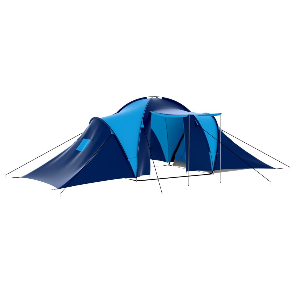 Ovaj veliki šator je savšeni za sve prigode kampiranja. Udobni interijer je pogodan za kampiranje na otvorenom