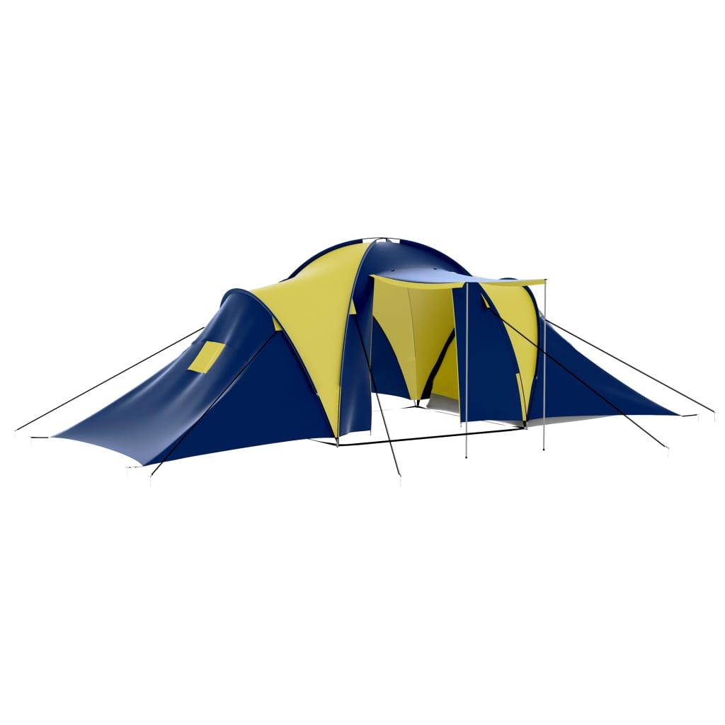 Ovaj šator je idealan za sve vaše prilike za kampiranje! Ima ugodan interijer pogodan za kampiranje na otvorenom