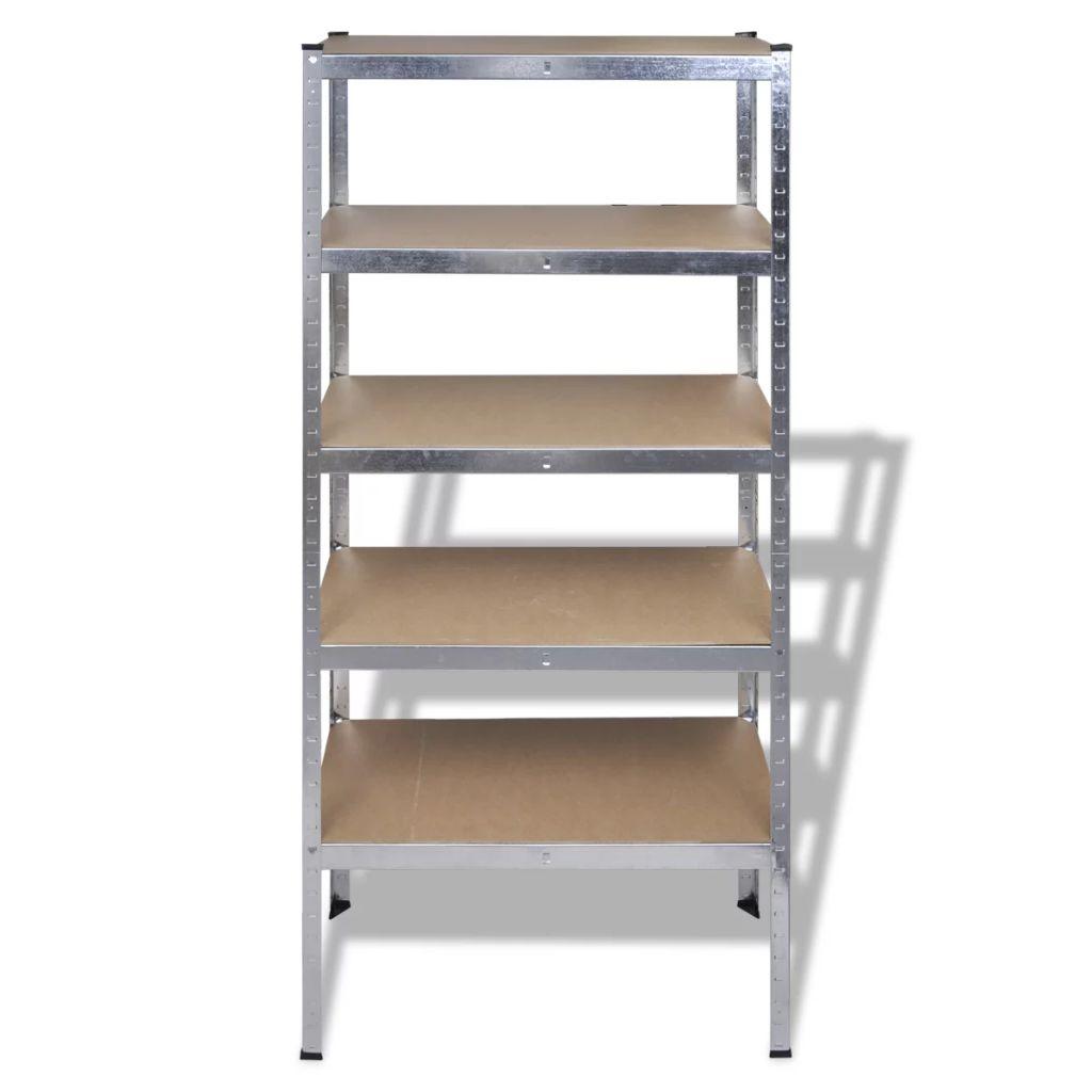 skladišnih stalaka sadrži ukupno 5 komada