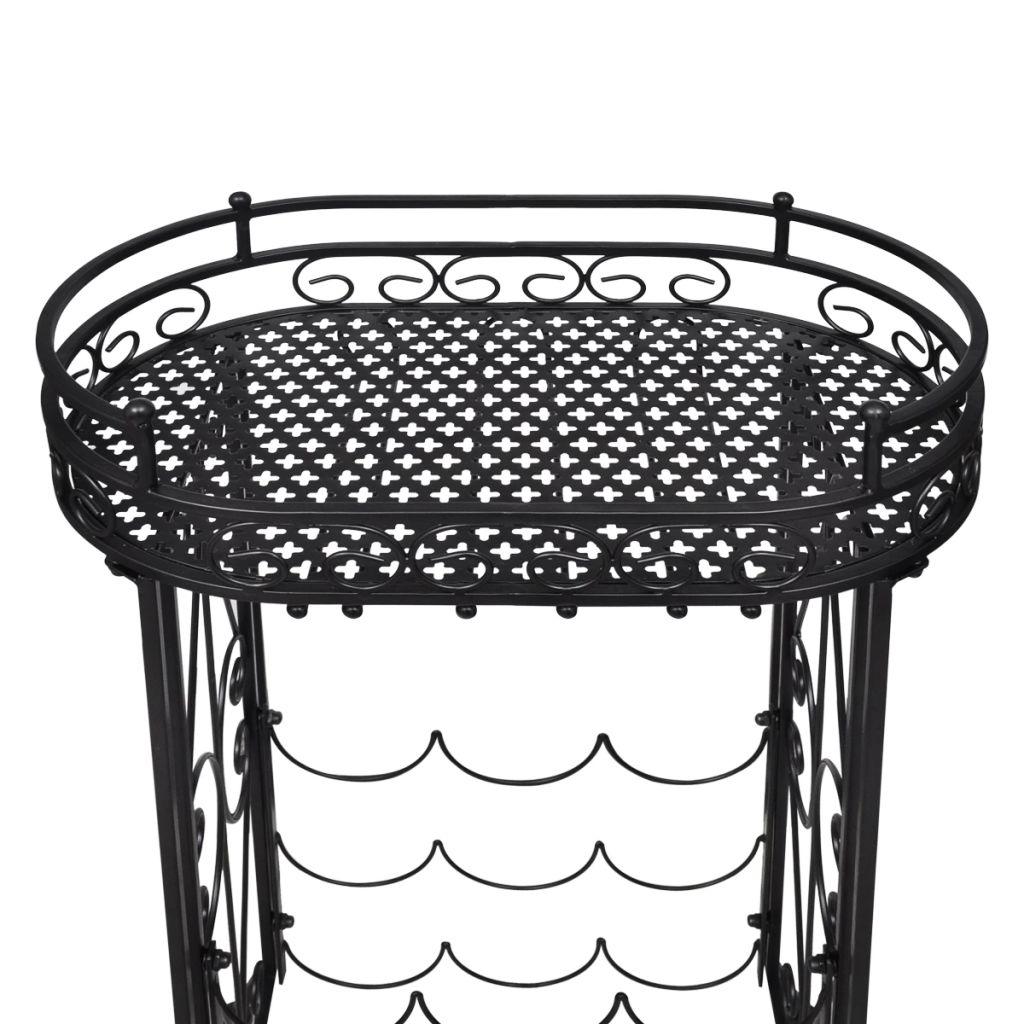 može se koristit i kao stol. Ispod stolne ploče se nalaze kuke koje vam omogućuju da vješate vinske čaše. Dakle