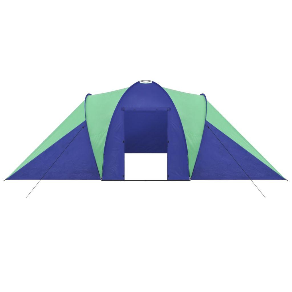šator ima mrežu protiv komaraca za mjesto za spavanje. Isporuka uključuje torba za nošenje.
