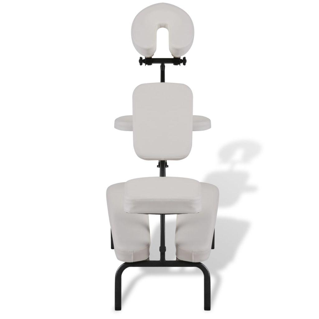 prijenosni masažni stolac s uvrštenom transportnom torbom pogodan je za masaže