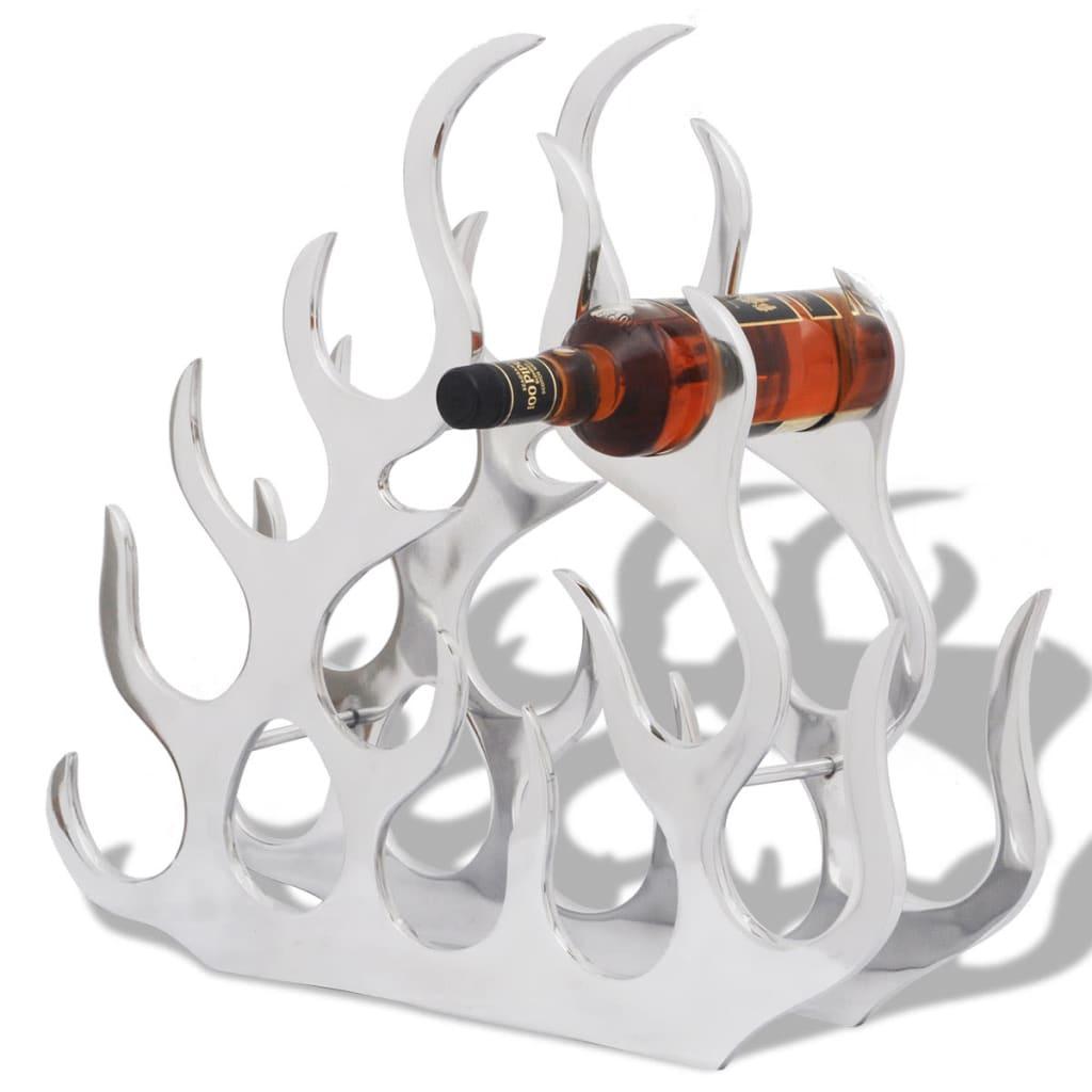 Ovaj stalak za vinske boce pomoći će vam da pohranite i organizirate vaša omiljena vina. Odličan je kao ukrasni i praktični dodatak za vašu prostoriju. Ovaj vinski stalak može pohraniti do 11 boca vina. Jedinstveni oblik plamena
