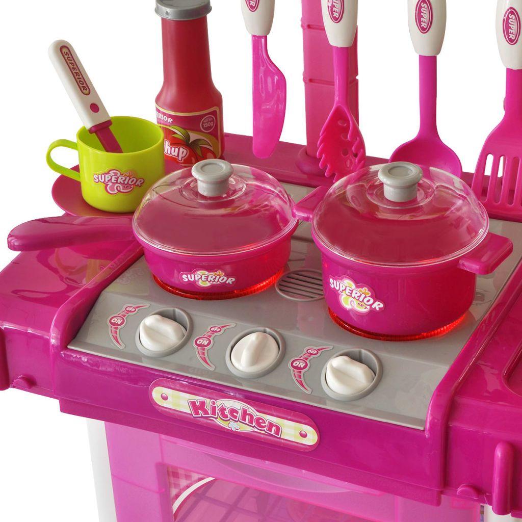pravoj posudu ili tavi . Štednjaci imaju 3 rotirajuće ručice koje omogućuju vašem malom kuharu da prilagodi temperaturu. Gornja polica je prikladno opremljena kukama za posuđe. Štoviše