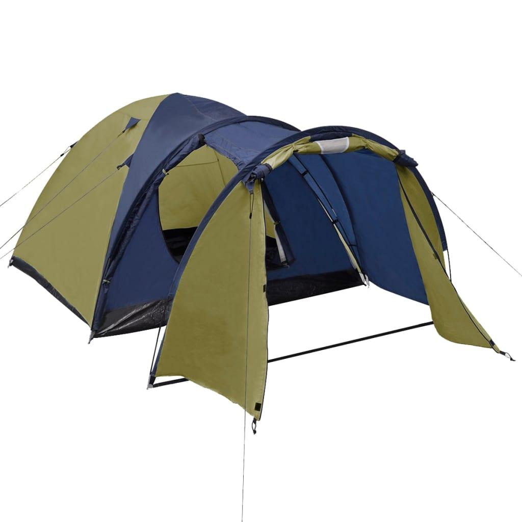 festivale ili odmaranje u kampu. Unutarnji materijal je prozračni poliester. Vodootporni šator i PE dno osigurat će da vaš boravak bude suh i čist. Struktura okvira od staklenog vlakna dodaje mu čvrstoću i izdržljivost. Ovaj šator ima dva ulaza i mrežu za insekate