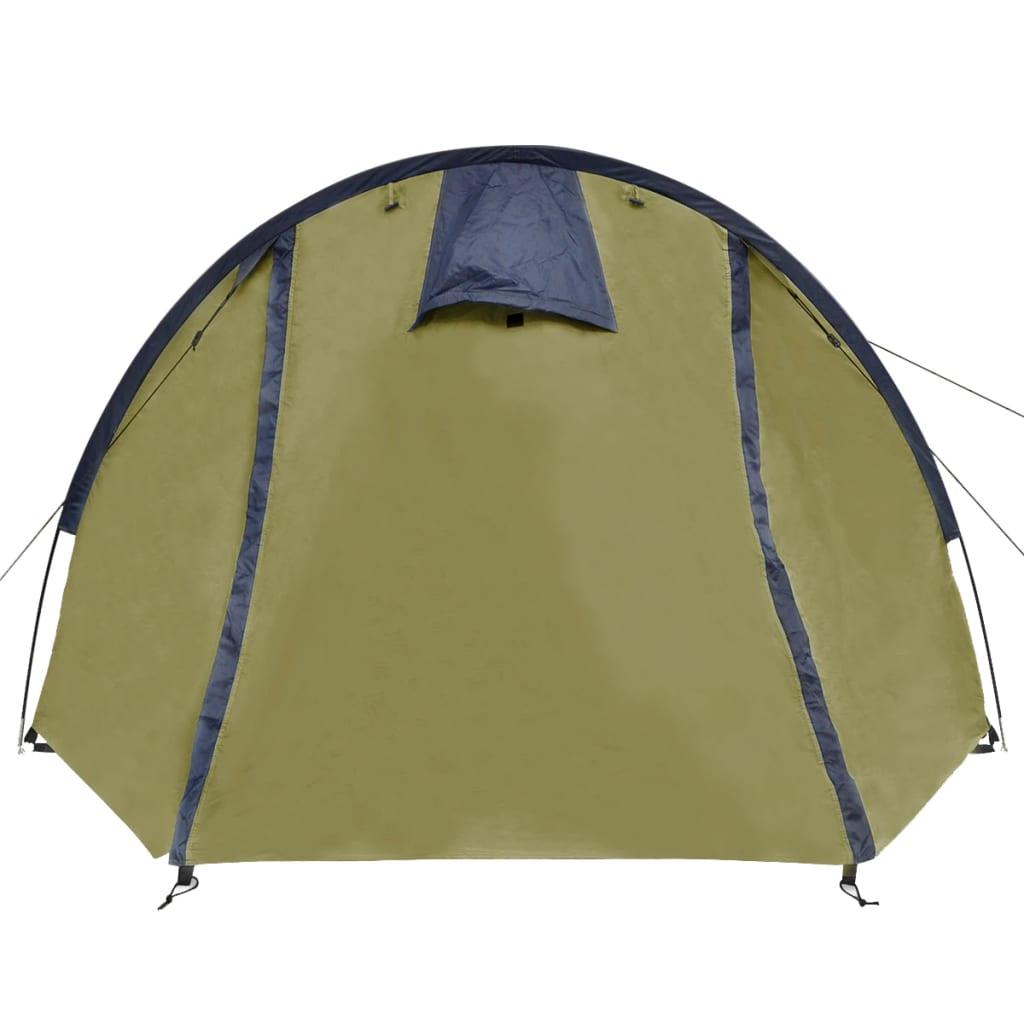 može se uredno upakirati u priloženu torbu za jednostavnu pohranu i transport. Imajte na umu da preporučujemo tretiranje šatora vodootpornim sprejem ako bude izložen jakoj kiši.