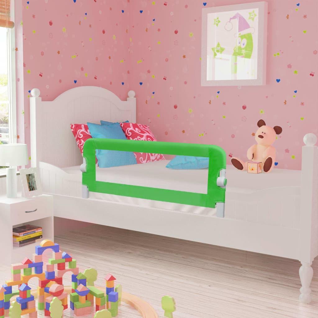 Ova sigurnosna ogradica za krevet idealna je za sprječavanje ispadanja vaših mališana iz kreveta dok spavaju. Opremljena gumbom sa svake strane