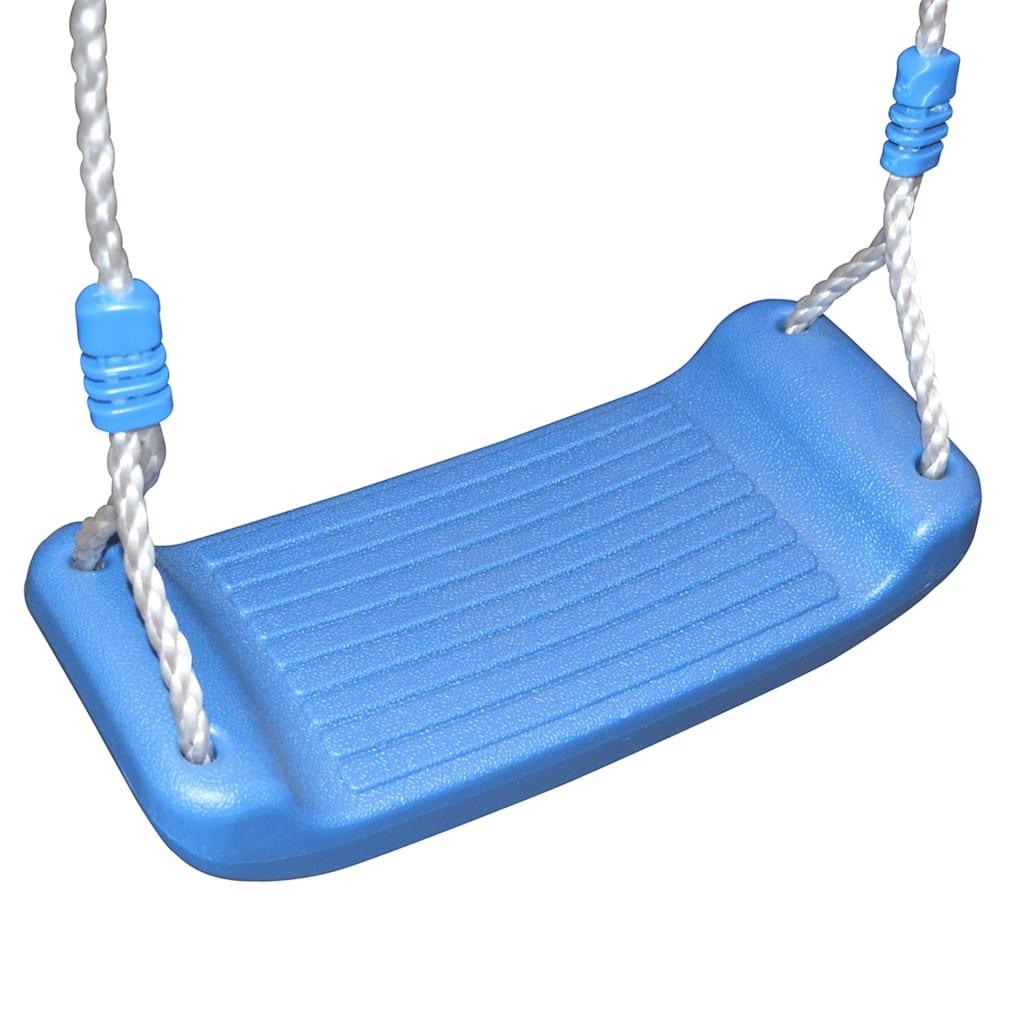 a rukohvati pružaju dodatnu sigurnost. Roditelji stoga mogu biti mirni kad se njihova djeca igraju na setu za igranje koji odgovara najnovijim sigurnosnim standardima. Kućica za igru ima čvrsti drveni okvir