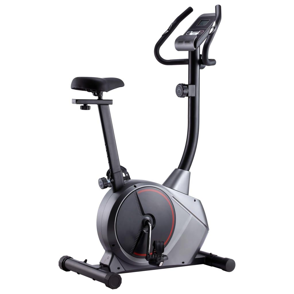 Ovaj čvrsti magnetski bicikl za vježbanje bit će odličan izbor za vježbanje kod kuće. Opremljen zamašnjakom s 8 mogućih razina otpora