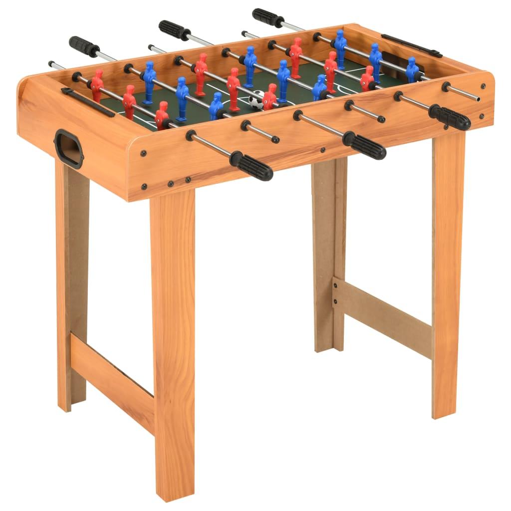 Organizirajte profesionalnu nogometnu utakmicu u udobnosti vlastitog doma. Jednostavno stavite naš stol za nogomet u svoju sobu i počnite igrati! Donijet će mnoštvo zabave u bilo kojem okruženju i savršen je za sobu za igre u kući