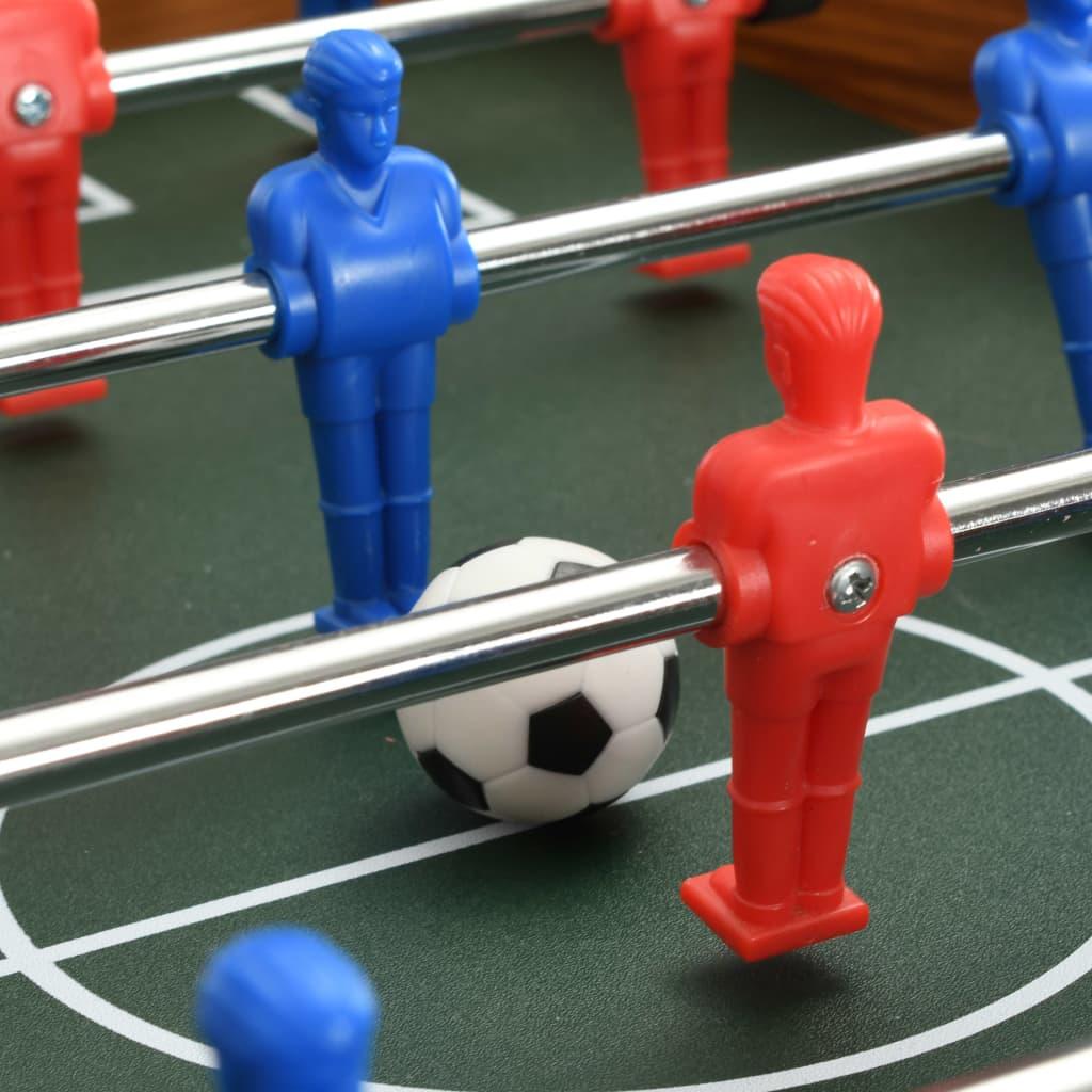 kao i druge prostore za zabavu. Ovaj stolni nogomet prikladan je za natjecanje jedan na jedan ili grupnu igru. Stol je izrađen od čvrstog MDF-a i kromiranih čeličnih šipki kako bi bio funkcionalan u nadolazećim godinama. Sadrži 6 redova koji omogućuju 3 reda po ekipi