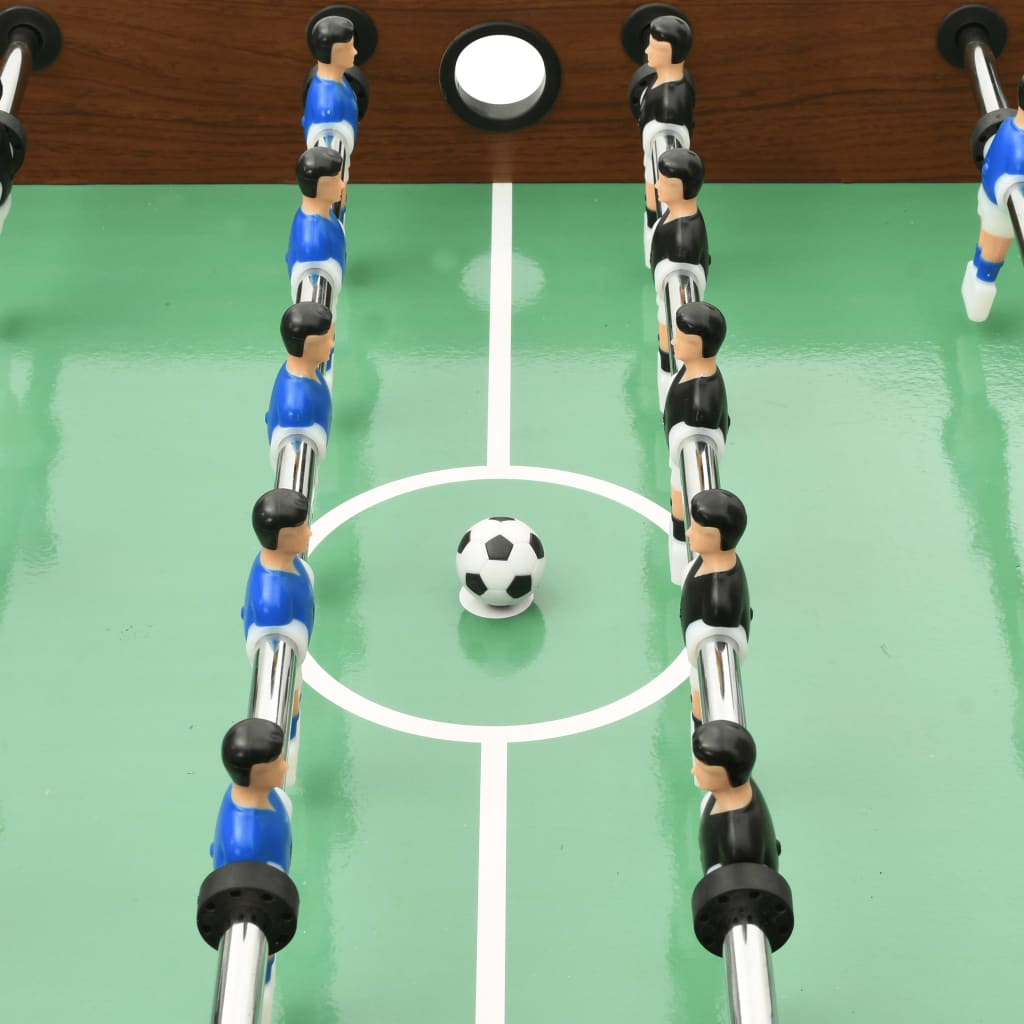 uz naš stol za nogomet od 121 cm. Donijet će mnoštvo zabave u bilo kojem okruženju i savršen je za sobu za igre u kući