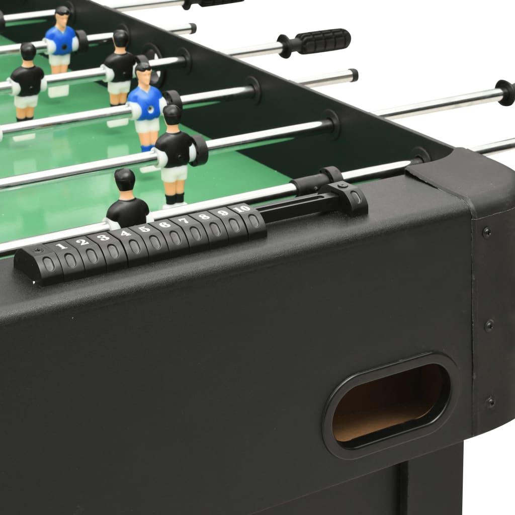 11 crnih igrača i 11 plavih igrača