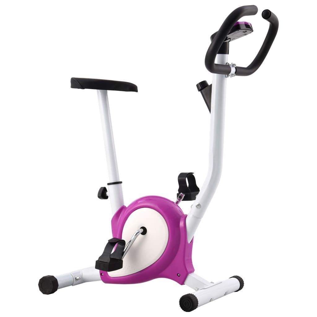 ovaj uspravni bicikl omogućit će vam učinkovito vježbanje. Možete pratiti svoju učinkovitost na LCD zaslonu koji prikazuje podatke o proteklom vremenu