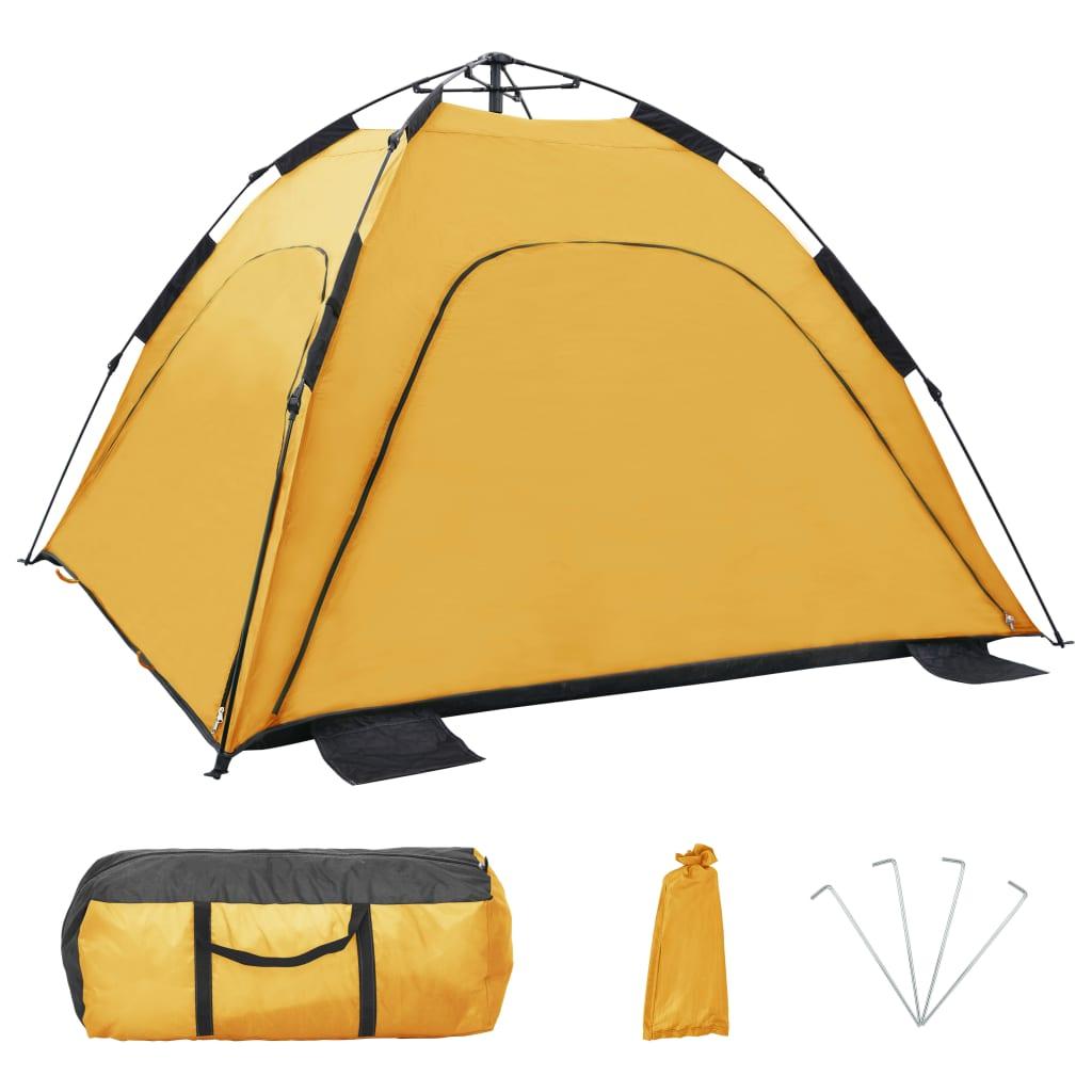 praktičniji je od šatora za samostalno sastavljanje. Trebate samo izvaditi pokrov za plažu iz pakiranja