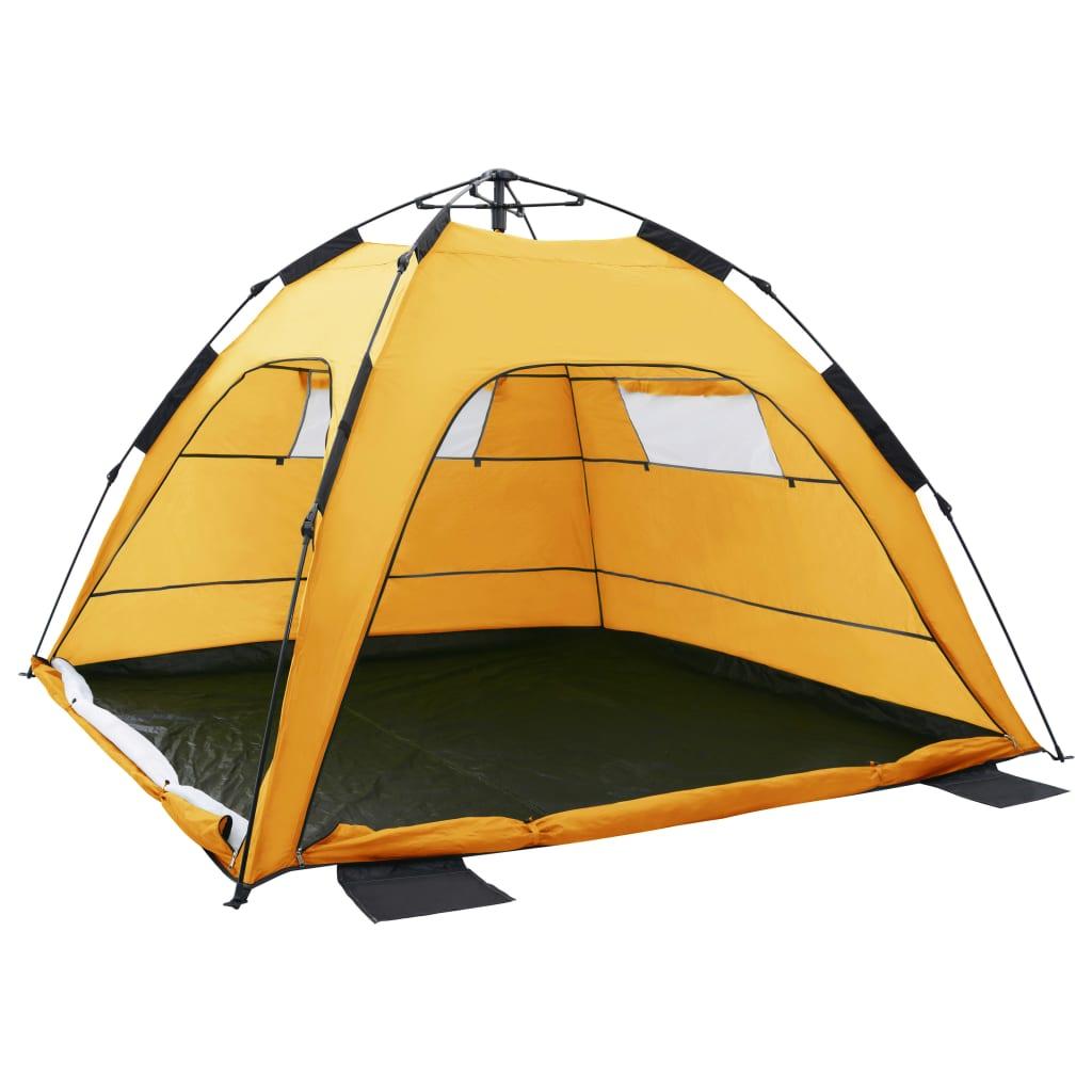 ovaj šator prikladan je i za upotrebu u šumi ili na livadi.