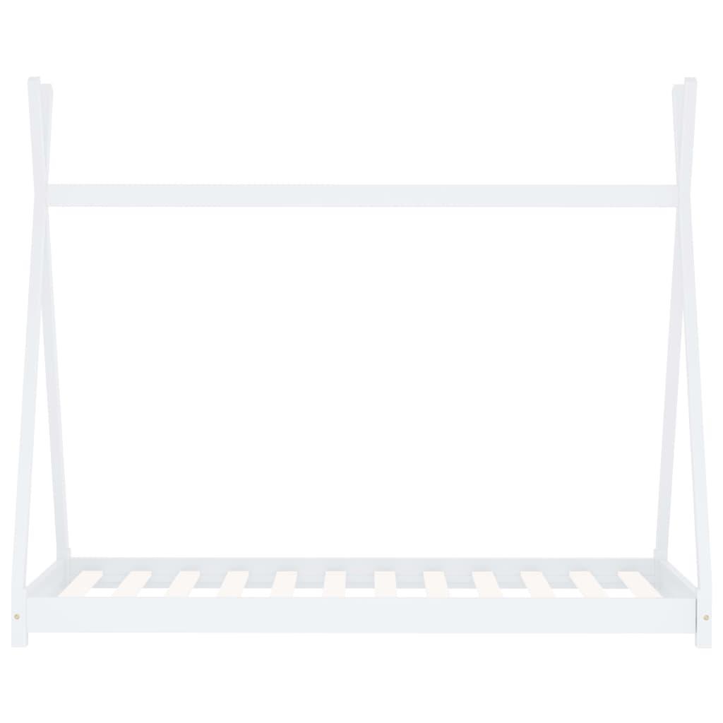 ovaj okvir za krevet izuzetno je čvrst i izdržljiv. Snažne podnice nude potrebnu potporu i vrlo su udobne. Ovaj okvir za krevet prikladan je za madrac dimenzija 90 x 200 cm. Napominjemo da isporuka uključuje samo okvir za krevet; madrac i zavjese nisu uključeni. Ovaj krevet lako se sastavlja. Možete pogledati odgovarajuće madrace u našoj trgovini.