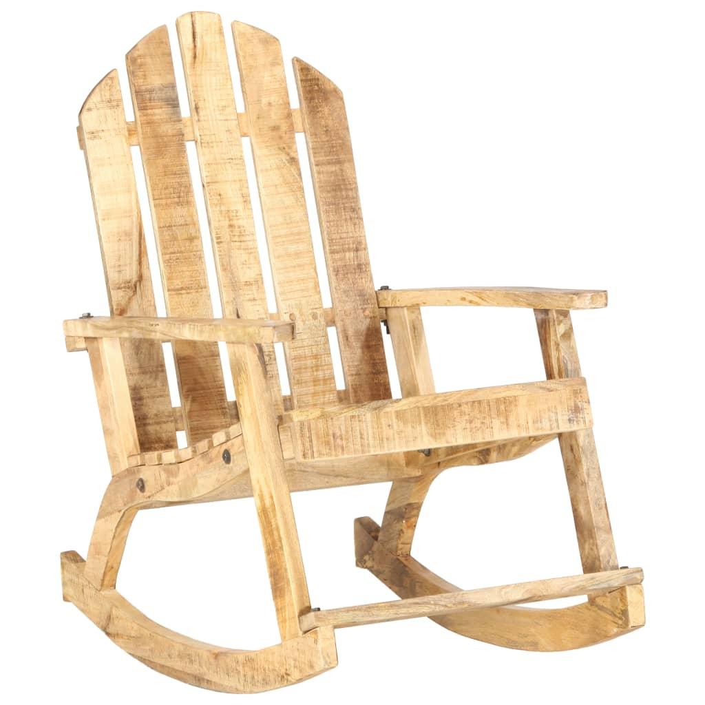 Opustite se u našoj čvrstoj drvenoj stolici za ljuljanje starinskog izgleda. Uz elegantan i bezvremenski dizajn