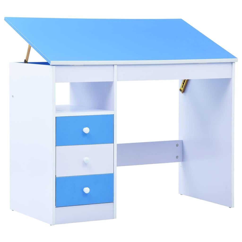 Dodajte novu dimenziju zabave i funkcionalnosti za svoju djecu u bilo koju prostoriju vašeg doma pomoću ovog dječjeg radnog stola za crtanje. S lijepim premazom i nevjerojatno čvrst