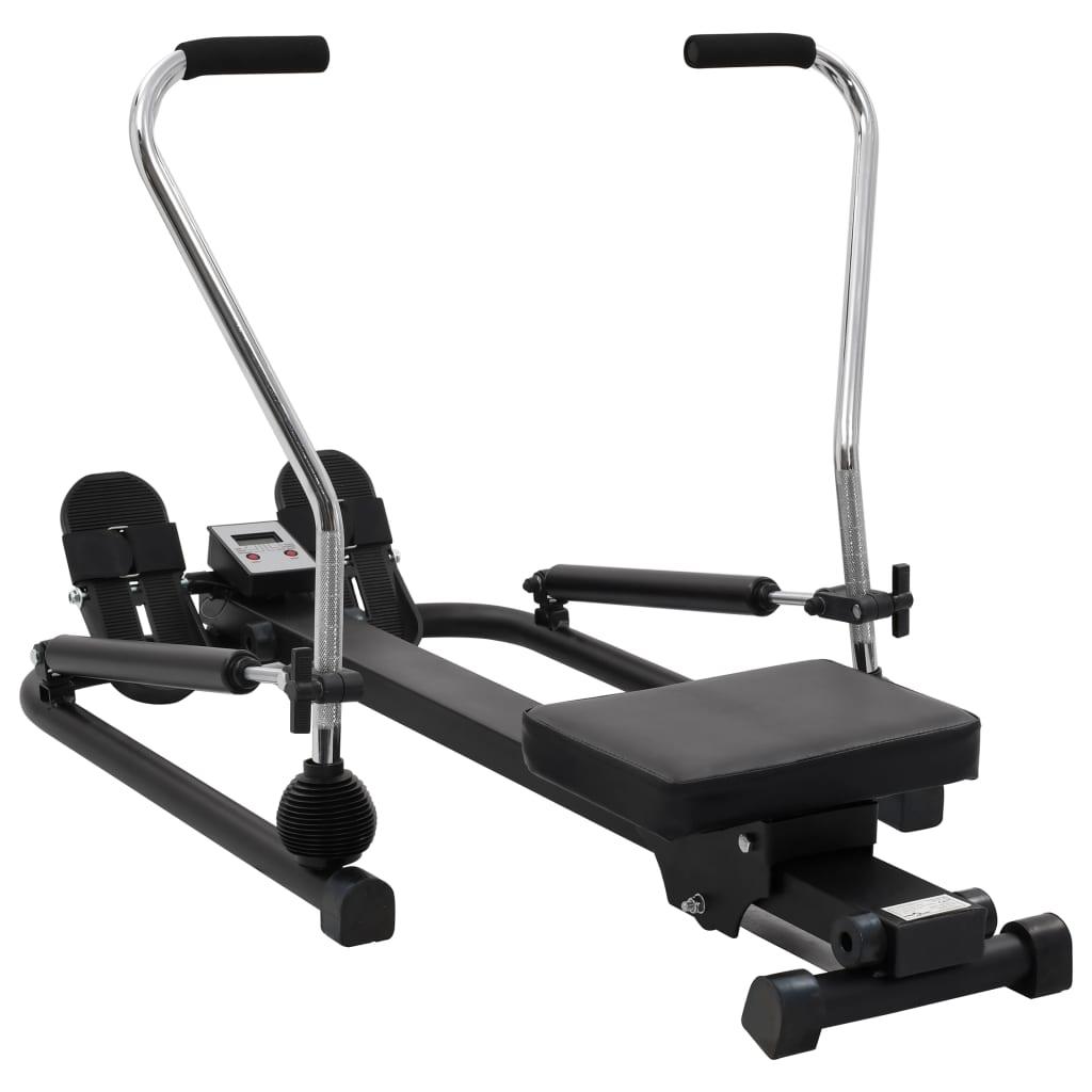 Naš funkcionalni veslački stroj pruža izvrsnu priliku za cjelovito vježbanje tijela. Ova kompaktna sprava za veslanje je idealna za ljude koji žele vježbati u svom domu. Potrebno je samo malo prostora da je postavite i tada možete brzo započeti svoju rutinsku vježbu. Ova jedinica pruža učinkovito vježbanje s malim udarcima koja povećava snagu u glavnim mišićnim skupinama