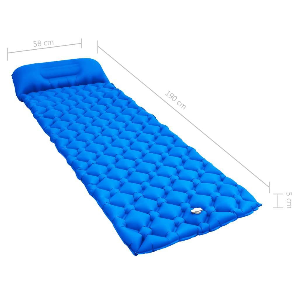 čime se dodaje još udobnosti! Ugrađeni jastuk može se napuhati radi najveće moguće udobnosti. Brzo se namata u torbu za nošenje